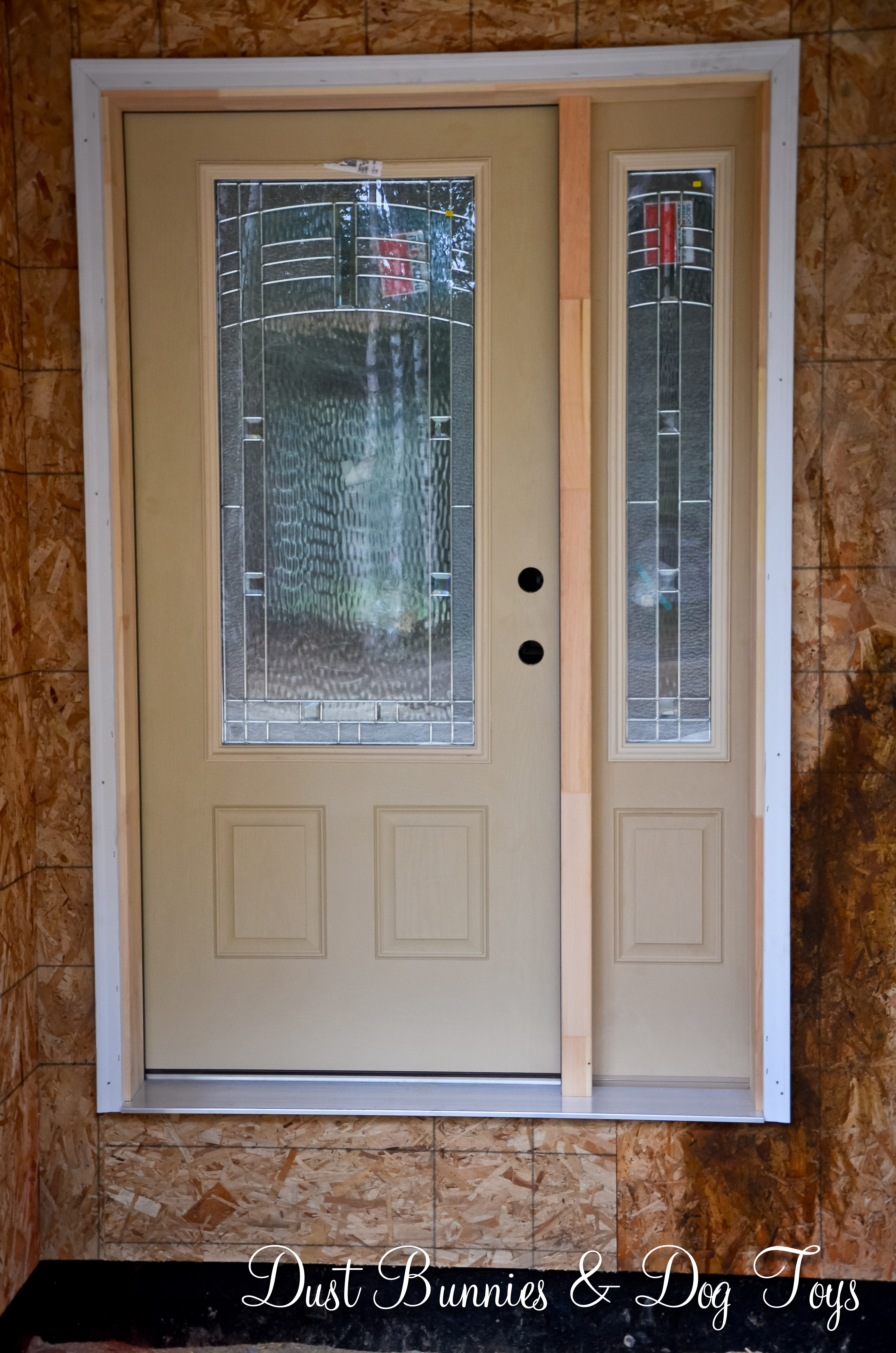 August 2013 for Front doors that let in light