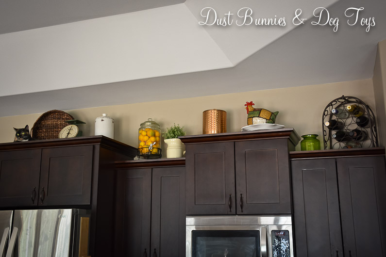 Kitchen Cabinet Top Decor