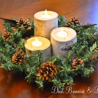 DIY Birch Candles